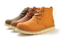 Wholesale 2014 Cowboy Boots High Quality Ankle Boots for Men Best Boots Genuine Leather Shoes LHA55025
