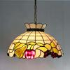 Tiffany chandelier glass fruit apple pear European-style garden restaurant chandelier DIA 40CM H 100 CM