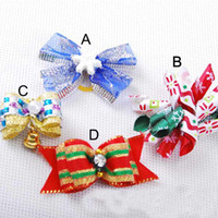 Newest pet dog hair pin, pet hair clip Chrismas pet pins Low...