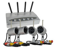 Wholesale Ultra Low Price Wireless IR Night Vision Outdoor Waterproof Cameras DVR Receiver System CH