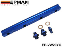 Wholesale EPMAN Injector High Flow Fuel Rail For Audi VW L Turbo V Blue NEW EP VW20YG