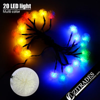 Wholesale ZITRADES Multi color FT Led Chuzzle Solar Fairy String Lights for Outdoor Gardens Homes Christmas Party