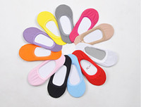 Foot Cover ladies socks - Hot sale Fashion New Korean Candy color ankle socks Lady invisible socks pairs W4175