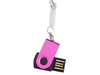 Wholesale 10pcs GB Rotate USB Flash Drive S33 memory stick Pen drives usb flash disk Pendrives Thumbdrives