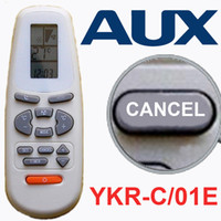 ALL KINDS aux air conditioner parts - AUX YKR C E Air Conditioner Romte Control Air Conditioner Parts with pieces