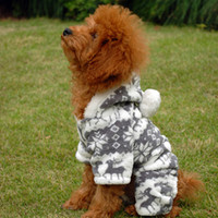 Wholesale Deer Velvet Coat Dog Coat Winter Pet Clothing Pet Supplies Pet Apparel CA067