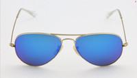 Wholesale 2pcs men women designer Sunglasses Large metal Sunglasses and retail
