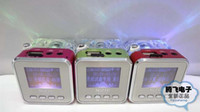 Wholesale Mini USB Speaker Led Portable Digital Lcd Screen NiZHi Music Player FM Radio TT Support TF Card