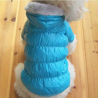 Wholesale Winter Design Pet Clothes Exquisite Three Colors Nylon Dog Vest B1033