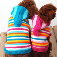 Free Shipping Hot Sale Pet Christmas coat pet sweaters, dog s...