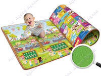 Wholesale Baby Kids Children s Learning Math Two sided Crawling Pad Beach Picnic Mat Outdoor Blanket