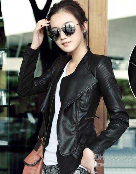 Images of Cheap Leather Jackets For Women - Reikian