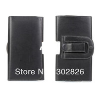 For Samsung Plastic Pouch For Samsung Galaxy Note 3 III N9000 Waist Belt Clip PU Leather Case