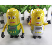 Wholesale DHL Music Speaker For Smart cell phone Table PC Samsung Note iPhone iPad HTC Despicable Me Little yellow toy Mini USB Made in China
