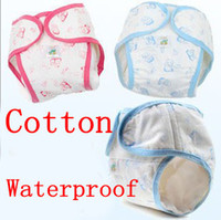 Wholesale BY12 Waterproof Cloth Nappy Reusable Washable Baby Cloth Nappies Diapers Comfortable Baby Diaper Pads