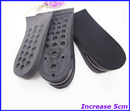 Wholesale Height Increase cm Half Insoles Heel Lifts Pads Layer PU Air Cushion pairs