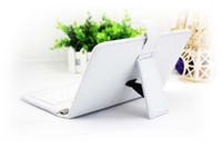 Wholesale 5pcs Universal quot inch MID PU Leather Protect Cover Case with Stand for Tablet PC with keyboard