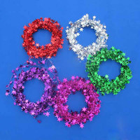 Wholesale M NEW CHRISTMAS COLOR BAR Tinsel colors Color bar Christmas decorations T90170