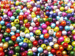 Wholesale 50g Acrylic Multi Loose Beads Miracle Spacer Round mm Beads Ball Jewelry Findings BSE1