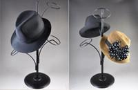 Wholesale Metal Hat Display Stand Hanging hat rack Multiple hat rack display