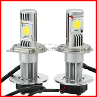 Wholesale 2 Sets H4 W CREE LED Headlight High Low CXA1512 COB Chip LM Xenon White K V Car Truck Universal H13 H L H7 Mix