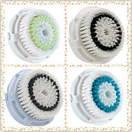Wholesale Electric Facial Cleaning Brush Head Facial Cleanser Brush Machine Replacement Heads