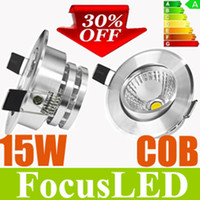 Wholesale Christmas Surprised OFF COB W W Ultra Bright LED Downlight inch Fixture Ceiling Lights Warm Cool White Recessed Lamps Hrs