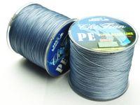 fishing tackle - 300M PE Grey High quality BRAID FISHING LINE Dyneema Spectra fishing tackle lbs lbs