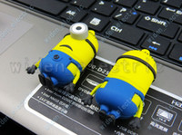 Wholesale 32GB Fashion Cartoon Minions Despicable Me Models USB Flash Drives amp Storage Memory Stick Pen Drive U Disk
