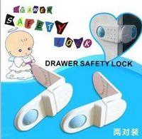 Wholesale New Arrival Hot Sale Baby Maternity Series rectangular door lock security lock drawer refrigerator lock corner protection