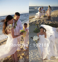 Other Reference Images Sweetheart Free shipping!Megan Fox sweetheart sleeveless beach wedding dress with long train JWD026