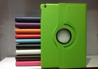 Wholesale case for ipad air degree Rotating PU Leather Cover Case for ipad ipad ipad air smart stand moq