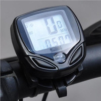 Wholesale 5pcs Wireless LCD Bike Speedometer Meter Bicycle Odometer Cycle Computer