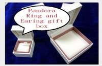 Wholesale 66pcs Original Pandora Bracelet Box Jewelery Box With quot x quot x Jewelry Cream White Gift Box Pandora Bracelet Gift Box