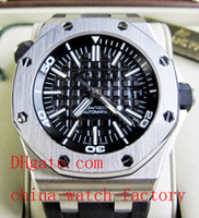 Men's Analog  In Original Box AAA Top Quality Wristwatch Luxury Diver Royal Oak Offshore Black Rubber ROO H 15703ST.OO.A002CA.01 Mens Watch Men's Watches