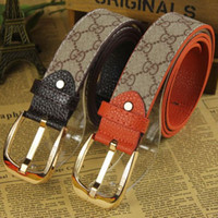 Wholesale PU Leather Wide Belts For Men Designer Simplicity Style Leisure Mens Or Women Brand New Belt