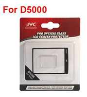 Wholesale JYC Camera LCD Screen Protector Cover For D5000 SLR Camera Optical Glass