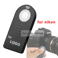 Wholesale ML L3 IR Wireless Remote Control for Nikon D7000 D5100 D5000 D3000 D60 D90 P7000
