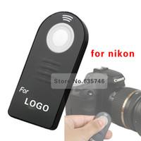 Wholesale ML L3 IR Wireless Remote Control for Nikon D7000 D5100 D5000 D3000 D60 D90 P7000
