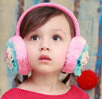 Wholesale Fashion Girls Winter Ear Muffs For Winter Girls Earmuffs Ear Muffs Kids Ear Muffs Children