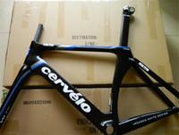Road Bikes Carbon Fibre Glossy Cervelo Frame S5 Team VWD Road Carbon Fiber Frame+Fork+Aero Seatpost+Clamp+Headset 48 51 54 56 58cm