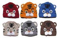 baby tiger photos - Pc Baby Girls Boys Kids Toddlers Children Infants Crochet Knit Tiger Animal Cartoon Hat Cap Tail Photo Prop