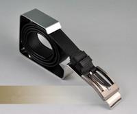 Wholesale High grade Minimalist Mirror surface stainless steel belt display stand racks