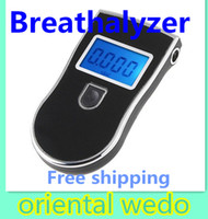 Wholesale TOP High quality Prefessional Digital Breath Alcohol Tester Breathalyzer Freeshipping