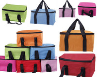 Wholesale 3pcs Novel New Insulated Foil Lunch Bag Waterproof Oxford Portable Versatile Picnic Insulated Cooler Bag Colors Choose DGZ