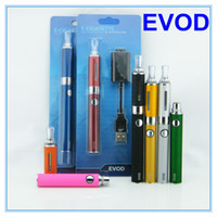 Wholesale Ego evod kit evod blister electronic cigarette starter kit mt3 e cigarette kit evod e cigarette kit DHL