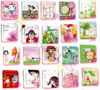 Wholesale 50pcs DIY light wall sticker switch decoration popular decorative GP power switch sticker cover model choose