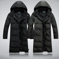 Wholesale Winter Down Jacket Thickening add Long Winter Coat Men M XL t0038