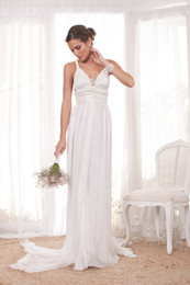 Wholesale 2014 Bridal Gown A line Sweetheart Criss cross Court Train Sleeveless Applique New Hot Elegant Beach Chiffon Wedding Dresses A1780