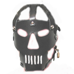 Wholesale 2013 newest high quality PVC Animal mask Head bondage fun headgear masks sex games Hoods amp Muzzles BDSM game for couples